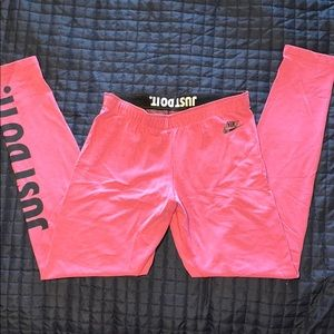 Nike Workout Leggings-NWOT